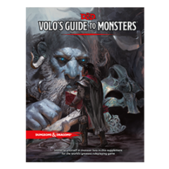 Dungeons and Dragons 5th Edition Volo's Guide to Monsters